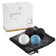 Dacso Balle de massage set Elite 1 x balles Duo 2x balles Lacrosse auto-massage élite