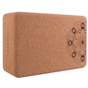 Bindo Professional Yoga Block, klocek do jogi, 23 x 7,5 x 15 cm korek mandala profesjonalny