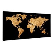 Wonderwall Air Art Smart, infrardeči grelnik, zlat zemljevid, 120 x 60 cm, 700 W 120 x 60 cm