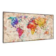 Wonderwall Air Art Smart, infrardeči grelnik, barvni zemljevid, 120 x 60 cm, 700 W 120 x 60 cm