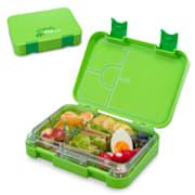 Lunchbox schmatzfatz junior 6 compartiments 21,3 x 15 x 4,5 cm (LxHxP) Vert