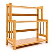 Regał na przyprawy, z 3 półkami, 18 x 41 x 41,5 cm, ekologiczny bambus