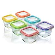Mini Frischhaltedosen 6er-Set je 160 ml spülmaschinenfest auslaufsicher