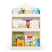 Cuckoo One White Haus Bücherregal Montessori Multiplex 60x95x13cm Weiß
