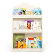 Cuckoo One White House Bookcase Montessori Multiplex 60 x 95 x 13 cm White