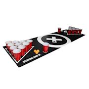 Baseliner, podloga za beer pong, audio, ručke, držač za loptice, 6 loptica