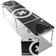 Baseliner, set sa beer pong stolom, audio, ručke, držač loptica, 6 loptica Igrajte stol i šalicu