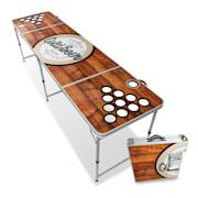 Backspin Beer Pong Tisch Set Wood Eisfach 6 Bälle Spieltisch - Plus