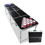 Backspin Beer Pong, set, stol, lines, ručke, držači loptica, 6 loptica Play stol i šalica (crvena / plava)