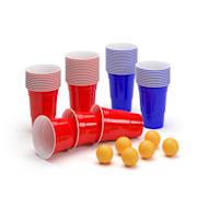 Nadal 16 Oz Red & Blue Party Pack Becher zwei Farben inkl. Bälle und Regelwerk 50 Stück