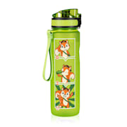 Lyseren Kindertrinkflasche 600 ml Trinkskala auslaufsicher Fruchtfilter Grün