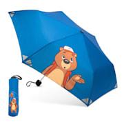 Votna Kinderregenschirme 90 cm ⌀ Reflektoren faltbar Blau