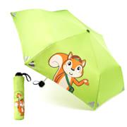 Votna Kinderregenschirme 90 cm ⌀ Reflektoren faltbar Grün