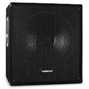 VONYX / Skytec 46 cm actieve disco-subwoofer 1000 W luidsprekerbox