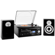 TT-190 Hifi CD Stereo System Turntable MP3 Recording Player