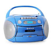 Boomboy Kassettenplayer USB MP3 Blau