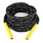 Monster Rope Tau 9m Schwarz Nylon dreischlägig