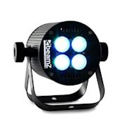 LED PAR svetelný efekt, 4 x 8 W RGB LED, DMX