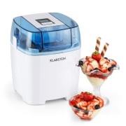 Creamberry Machine à glace Bac isotherme yaourt glacé 1,5l - blanche Blanc