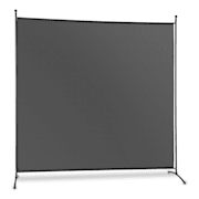 Brindisi Privacy Screen Shade 1.8 x 1.8 m Polyester 180g / m² Steel