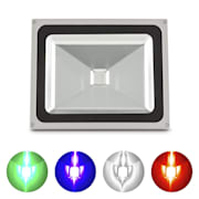 Fabulux, 50 W LED RGB reflektor umelého svetla, hliník, 50 W, IP65