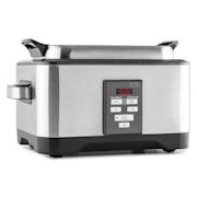DeepDive sous vide cooker vacuümkoker slowcooker 8l 550W geborsteld rvs