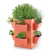 Herbie Hero Herp Pot Plant Pot 8 Plant Trays PP Terracotta