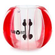 BUBBALL AR, BUBBLE BALL, PRO DOSPĚLÉ, 120X150 CM, EN71P, PVC, ČERVENÁ