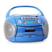 Boomboy Kassettenplayer USB MP3 Blau