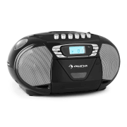 KrissKross Radio portatileUSB MP3 nero nero