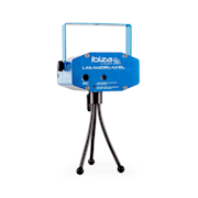 Firefly Showlaser Lichteffect Mini Laser Multipoint 130mW blauw statief