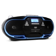 CMP-574 Boombox CD MP3 USB kasettisoitin AM/FM-radio-sininen