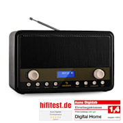 Digidab Retro DAB- digiradio FM PLL dual-alarm herätys torkku uniajastin
