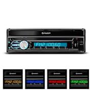 "DTA80BT Autoradio 17,8cm (7"")-Touchscreen Bluetooth USB SD Front-AV"