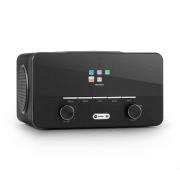 Connect 150 BK 2.1 internet rádió medialejátszóval, WiFi, LAN, USB, DAB+, FM Fekete