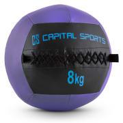 WALLBA 8, 8 KG, VIJOLIČNA, WALL BALL (MEDICINKA) IZ UMETNEGA USNJA 8 kg