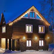 Dreamhouse Guirnalda luminosa 8m 160 LED blanco cálido Flash Motion