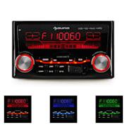 MD-200 2G Autoradio USB SD MP3 Radio 3 Farben 4x75W Line-Out