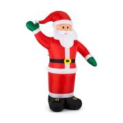 Mr. Klaus, Klaus, 240 cm, nafukovací Santa Claus, LED