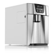 ICE VOLCANO 2G машина за ледени кубчета LED | 12кг на всеки 24ч | 2л | 6-10 мин сребриста Сребърен