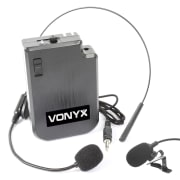 VPS10BP UHF headset pocket zender kit voor UHF systemen en PA installaties