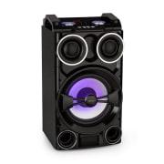 LIVE102, párty reproduktor, 300 W, USB/BT mediálny prehrávač, RGB LED, diaľkový ovládač