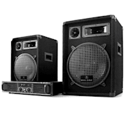 "Set complet DJ PA ""Marrakesch Lounge"" Amplificator 2x Boxe"