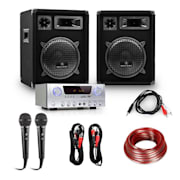 "DJ PA Package ""Marrakesh Lounge Pro"" Speakers & Amplifier Set"