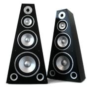 Двойка LTC SP-800 4-лентови Hi-Fi високоговорители