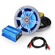 auna Car Hifi Set, 600 W, авто Hi-Fi комплект, 2.0 система, високоговорители