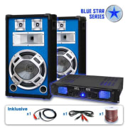 "PA Set Blue Star Series ""Basskick"", 1600 W"