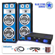 "PA Set Blue Star Series ""Bassveteran"", 1600 W"