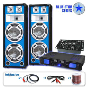 Set za ozvučenje Blue Star Series Bassveteran USB, 1200 W