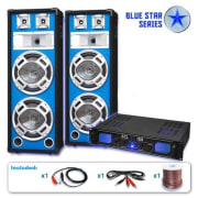 "PA set Blue Star Series ""Basskern"", 2800 W"